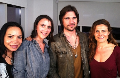Picture with Juanes